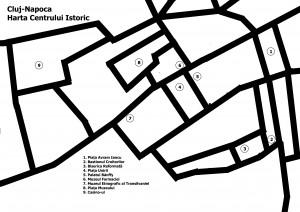 Historical Center Map